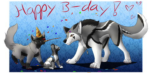 It's Your Birthday! (Contest Entry) by Celioxa