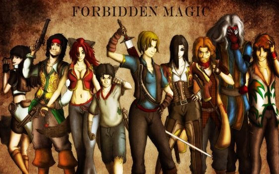 Forbidden Magic Cast by KurtLeon