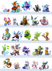 all of my neopets by Shoyrcloud