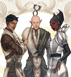 Mages of the Inquisition by nipuni