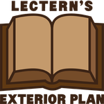 Lectern's New and Used Books (exterior plan) by Catspaw-DTP-Services