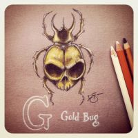 G is for Gold Bug by Disezno