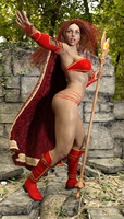 The Scarlet Enchantress 7 by Nathanomir