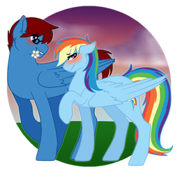 Commission: Colorful Love by templar127
