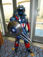 Master Captain America Katsucon 2016 by bumac