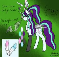 Sierra~ My new OC ^-^ by Wika4007