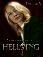 Hellsing Live Action Poster - Integra by yourparodies