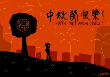 Happy Mid-Autumn Festival 2018 by Junited