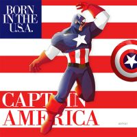 captain america : born in the USA by m7781