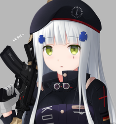 HK416 by KeenH