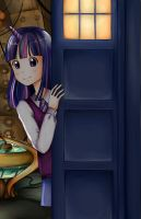 twilight in tardis by InvincibleChimiPie