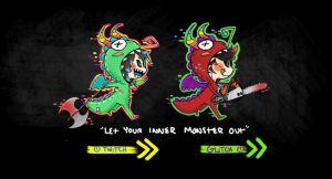Little monsters by Skyler-chan498