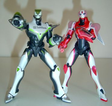 SH Figuarts Spring 2012 Duo Tiger And Bunny by ChristianPrime1-Bot