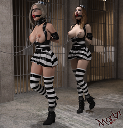 Commission - Prison Chaingang by MartyMartyr1