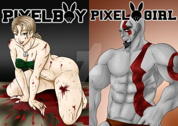 PixelBoy/ PixelGirl Cover by CP-BaM-BaM