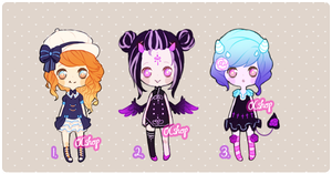 [CLOSED] ADOPTABLE BATCH #11 by OCshop