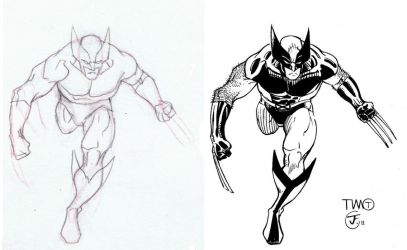Wolverine ink finish by antalas