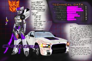 Charger tactic card by DecepticonCharger