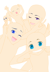 Vocaloid Group Base 2 by BBH-Bases