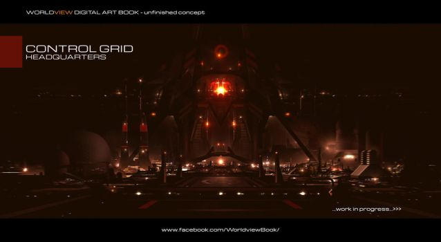 Control Grid HQ In Progress by JamesLedgerConcepts