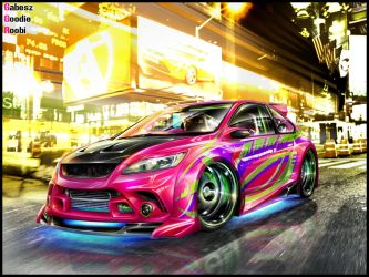 Ford Focus ST WTB'08 by roobi
