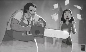 Paper TEXAS CHAINSAW MASSACRE by EadgeArt
