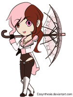 RWBY - chibiRWBY: Neo by Essynthesis
