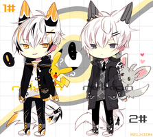 [AUCTION*CLOSED]Lineheart*60[PokemonTheme] by Relxion-kun