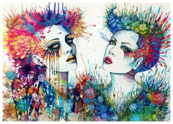 Godesses of the Nature by PixieCold