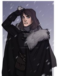 Commission: Jon Snow by Enife