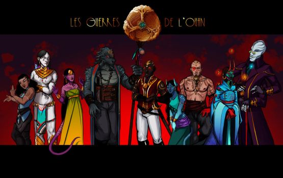 Wars of the Ouhn : species by Ashaton