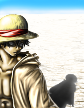 Luffy Shadow by Zinfer
