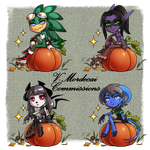Pumpkin Flavored Pagedolls [CLOSED] by V-Mordecai