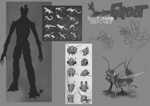 Groot's pet concept by Popuche