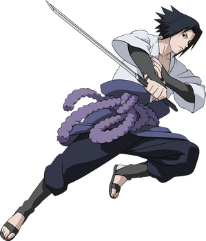 NS - Sasuke Render by xSaiyan