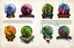 Cities and Desire Globes by Dont-touch-the-paint