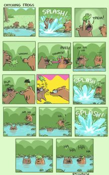 Catching Frogs by sebreg