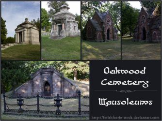 Oakwood Mausoleums by fetishfaerie-stock