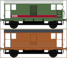 Bradford The Brake Van by Princess-Muffins
