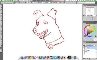 Can you Guess the Realistic Cartoon Dog? WIP #2 by KoiCatCreations