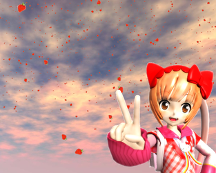 MMD Effect DL: Strawberry Rain by TeamVocaloid