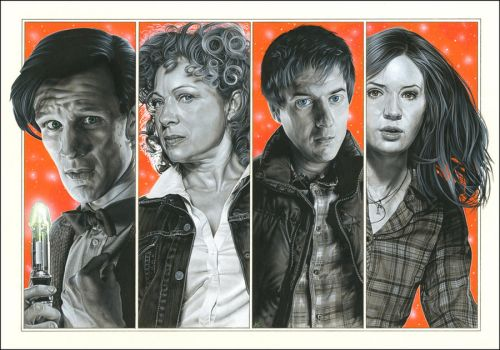 Doctor Who - Family Portrait by caldwellart