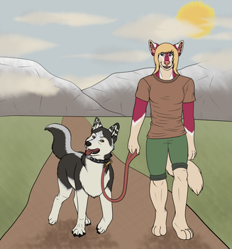 Going for a Stroll by MercuryShine