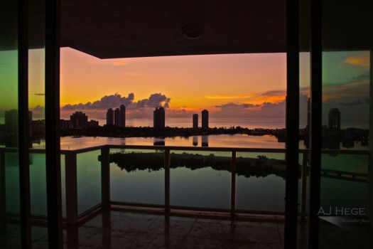 Miami Sunrise by AJHege