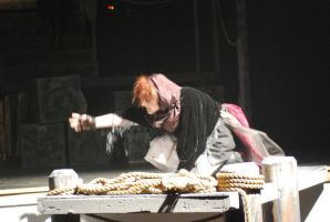 The Beggar Woman by Froggy-Spaztastic