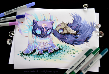 Kindred - New League Champ! by Lighane