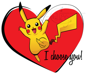 Pikachu chooses you! by Vashtastic