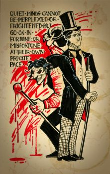 Gothic Horror Stuff: Jekyll and Hyde by Esteban84