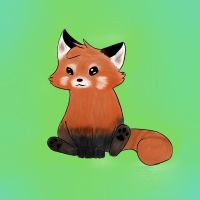 Cute Red Panda :3 by HadyNomsCinnanom
