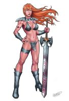 Red Sonja by malverro